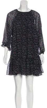 Ulla Johnson Silk Long Sleeve Dress