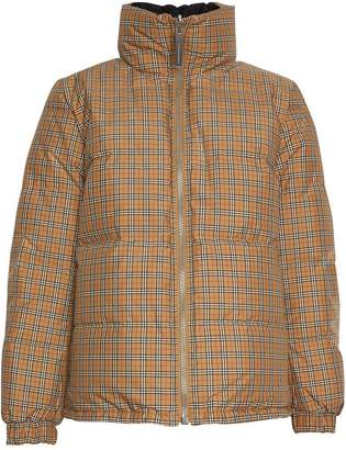 Burberry Vintage Check reversible puffer jacket