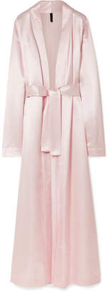 Unravel Project - Satin Robe - Pastel pink