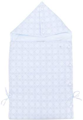 Christian Dior stitched sleeping bag