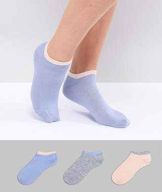 Fruit Cake Fruitcake 3 Pack Ankle Socks With Contrast Banding