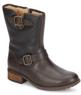 UGGChaney Shearling-Lined Leather Boots