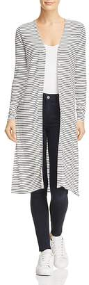 Three Dots Hyannis Stripe Duster Cardigan