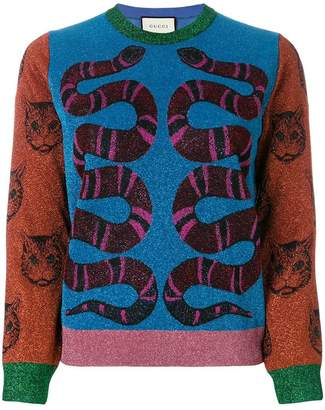 Gucci Kingsnake sweater