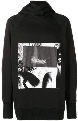 Julius graphic printed hoody