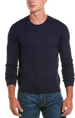 Vince Rib Trim Wool Sweater