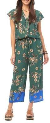 Democracy Tie-Waist Jumpsuit