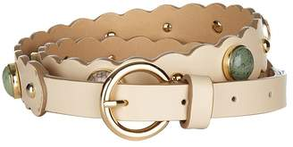 Sandro Bead Embellished Belt