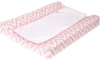 Belino Laminated Changing Pad - Pink White (dots)