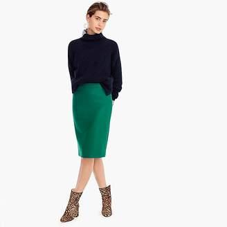 J.Crew Petite No. 2 pencil skirt in double-serge wool