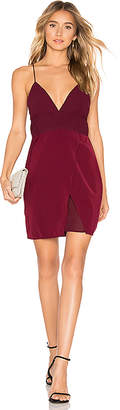 About Us Andrea Chiffon Mini Dress