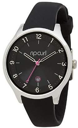 Rip Curl Women's Quartz Stainless Steel and Silicone Sport Watch
