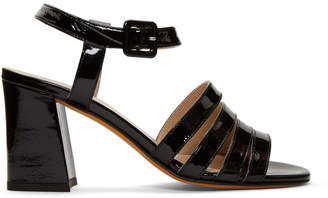 8aad9050b6b Maryam Nassir Zadeh Black Patent Palma High Sandals