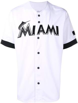 Marcelo Burlon County of Milan x MLB Miami Marlins Shirt