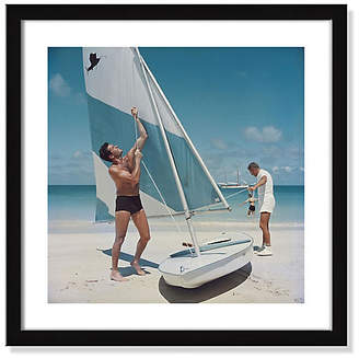Photos.com by Getty Images Slim Aarons - Boating in Antigua Art