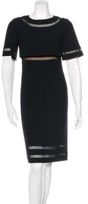 Oscar de la Renta 2015 Cutout Sheath Dress w/ Tags