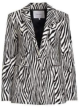 Frame Women's Zebra Blazer - Size 0