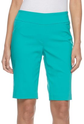 Women's Dana Buchman Pull-On Bermuda Shorts $44 thestylecure.com