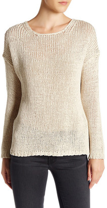 360 Cashmere Krissy Knit Open Back Sweater $299 thestylecure.com