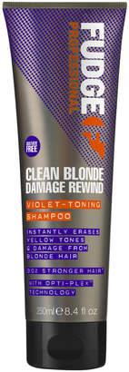 Fudge Professional Clean Blonde Damage Rewind Shampoo - Fudge Clean Blonde Damage Rewind Shampoo
