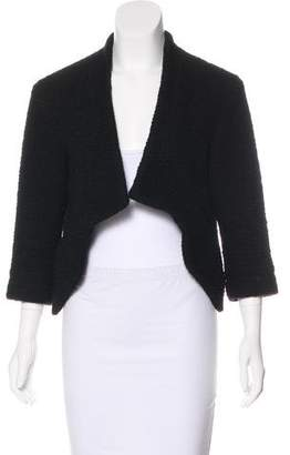 Thakoon Cropped Collarless Blazer