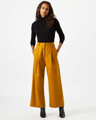 Jigsaw Pressed Flannel Crop Trouser