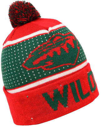 Forever Collectibles Minnesota Wild Big Logo Light Up Knit Hat