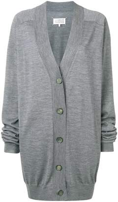 Maison Margiela buttoned V-neck cardigan
