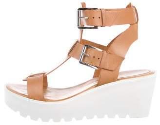 Barneys New York Barney's New York Leather Platform Sandals