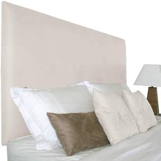 Cornermill Made in Australia Lowell Upholstered Bed Head, Wall Mounting, DI US Vanilla Double