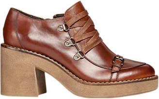 Geox Adrya Block Heel Slip On Shoe Boots