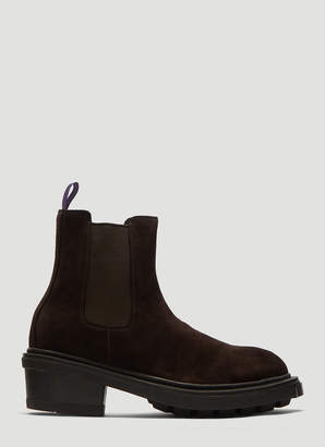 Eytys Nikita Suede Boots in Brown