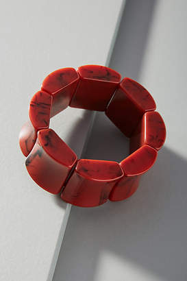 Anthropologie Cubic Resin Bracelet