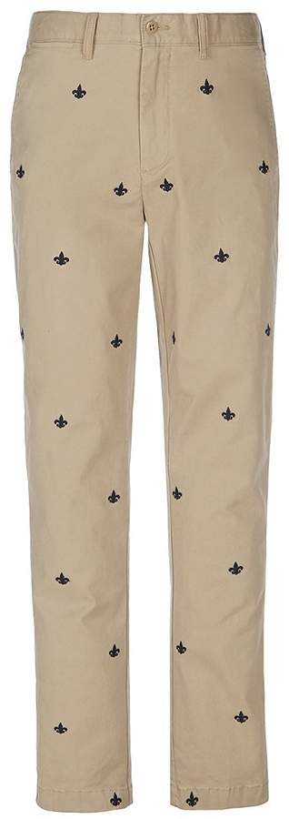 Cremieux Soho Slim-Fit Flat-Front Critter Chino Pants