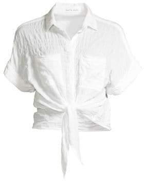 427b9e0f0a Tie Up Shirt - ShopStyle Australia
