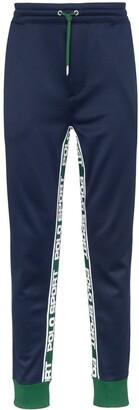 Polo Ralph Lauren logo-stripe sweatpants