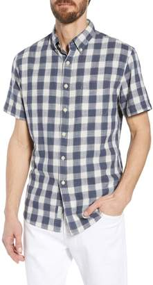 Grayers Gingham Twill Sport Shirt