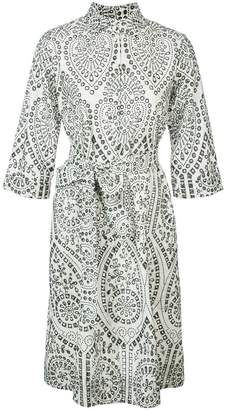 Lisa Marie Fernandez embroidered shirt dress