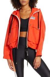 P.E Nation Cutshot Waterproof Hooded Jacket