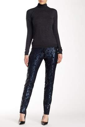 Insight Metallic Print Scuba Pant $108 thestylecure.com