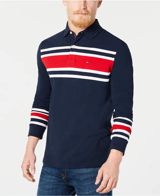 Tommy Hilfiger Men's Lewiston Striped Polo