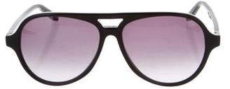 Bottega Veneta Gradient Aviator Sunglasses