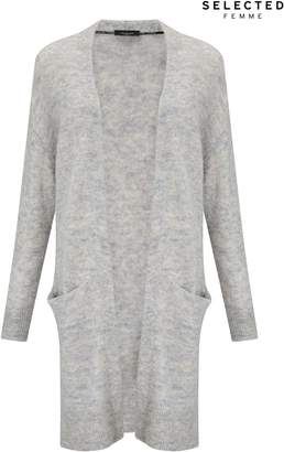 Next Womens Selected Femme Long Cardigan