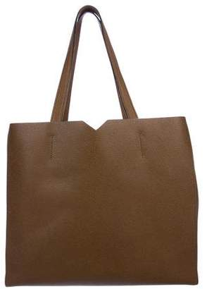 Valextra Leather V Tote