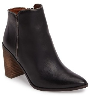 Women's Lucky Brand Mytah Pointy Toe Bootie $138.95 thestylecure.com