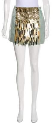 No.21 No. 21 Embellished Mini Skirt w/ Tags