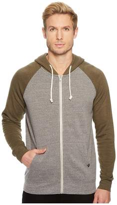 Threads 4 Thought Color Block Malibu Zip Hoodie Men's Sweatshirt