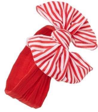 Baby Bling Jersey Bow Headband