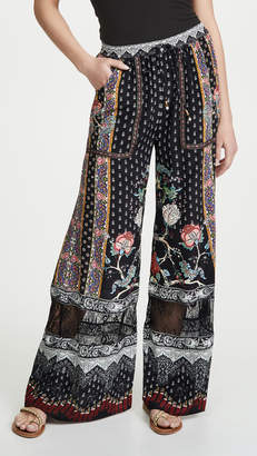 Camilla Wide Leg Drawstring Waist Pants