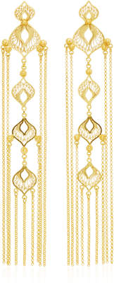 Mallarino Elena Sterling Silver and 24K Gold Vermeil Earrings